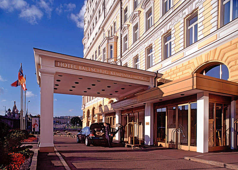 (c) fsp - felix steck Photographer; Hotel Baltschug Moscow
