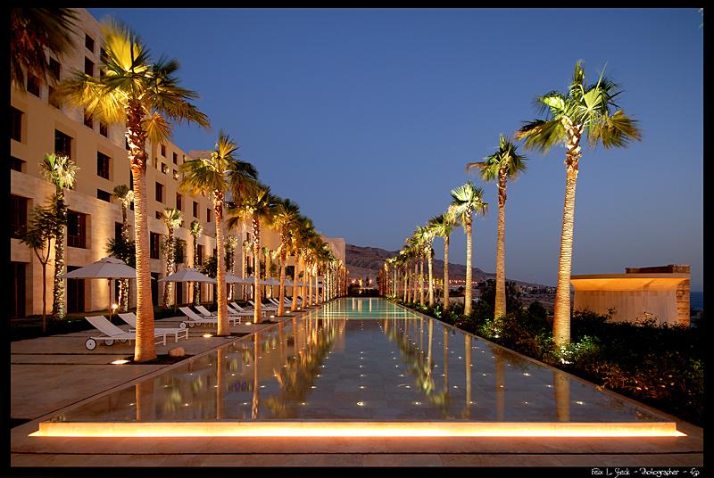 (c) fsp - felix steck Photographer; Hotel Ishtar Dead Sea Jordan