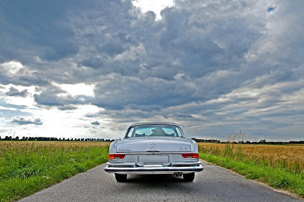 (c) fsp - felix steck Photographer; MB 280SE 3.5 Coupé, Classic Collection M. Diamand