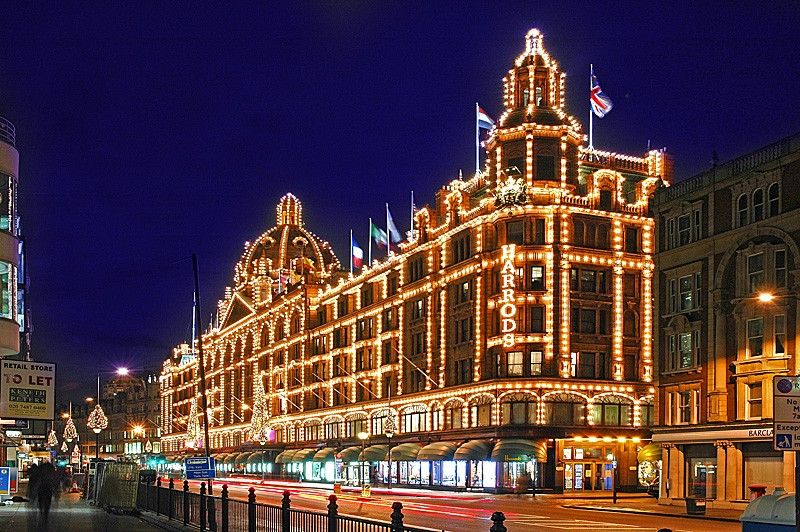 (c) fsp - felix steck Photographer; London, Harrods