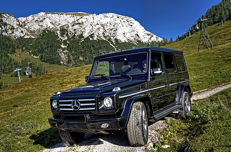 (c) fsp - felix steck Photographer; MB G55AMG W463, Classic Collection M. Diamand
