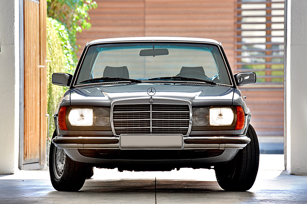 (c) fsp - felix steck Photographer; MB #280E W123, Classic Collection M. Diamand